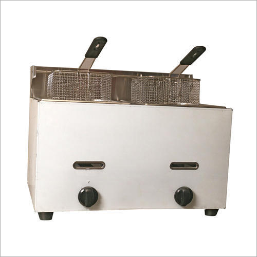 Table Top Gas Double Deep Fat Fryer