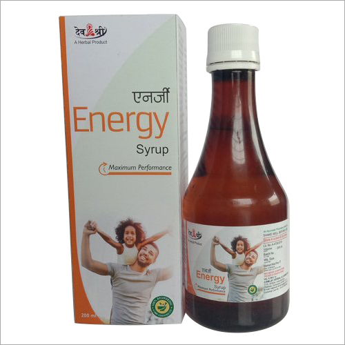 Herbal Energy Syrup