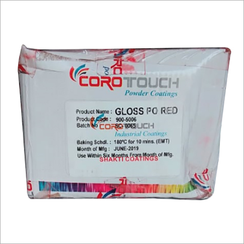Gloss PO Red Powder Coating