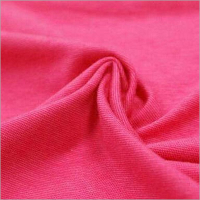 Pink Nylon Interlock Fabric