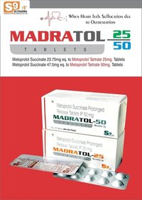 Metoprolol Tartrate 25mg ER