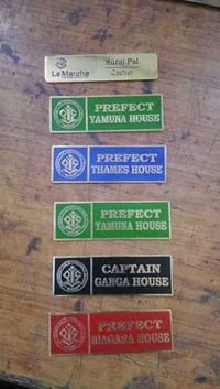 Steel School Badges