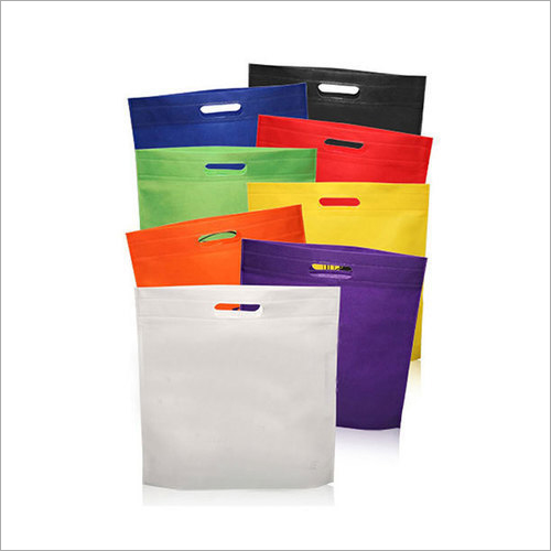 D Cut Coloured Non Woven Bag