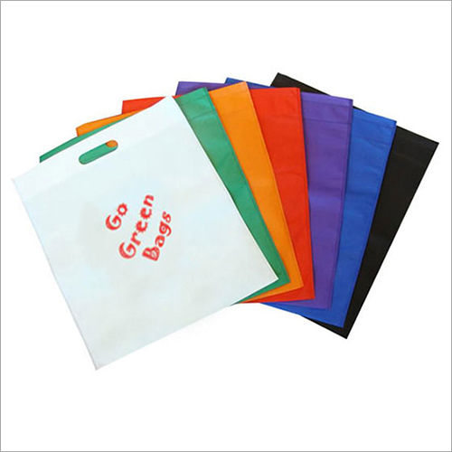 D Cut Plain Non Woven Bag