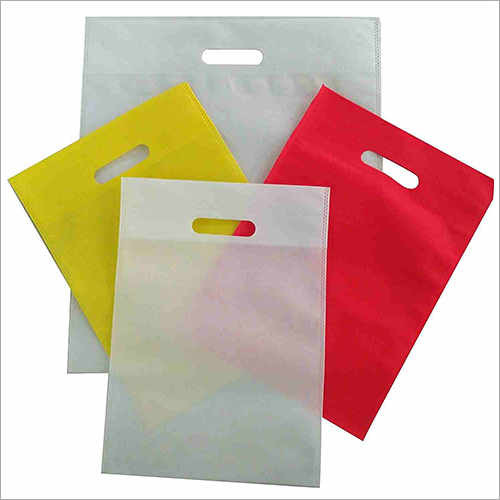 D Cut Shopping Non Woven Bag