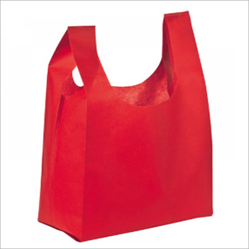 Supermarket U Cut Non Woven Bag
