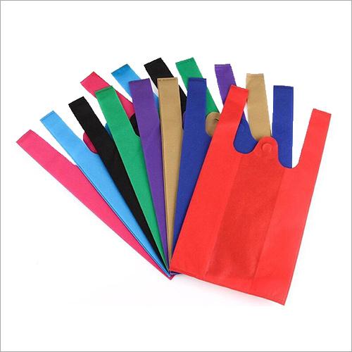 W Cut Coloured Bag