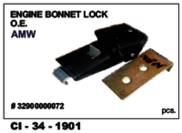 Engine Bonnet Lock Amw