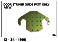 Auto Door Striker Guide Patti Amw