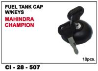 Fuel Tank Cap W/Keys