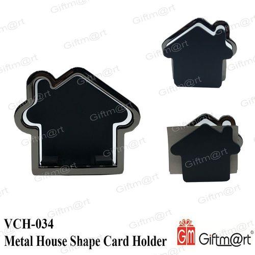 Metal House Shape Card Holder