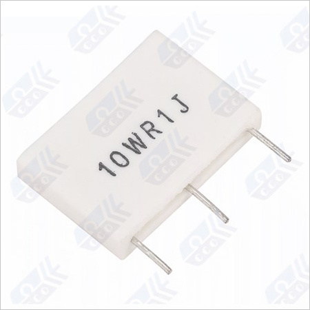 Non-Inductive Metal Plate Resistor