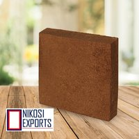 Brown Agricultural Rectangle Coco Peat Block