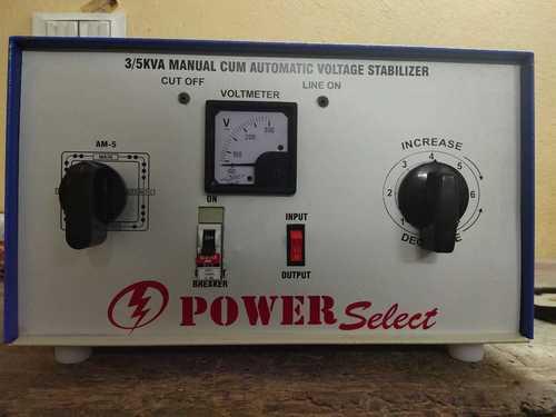 5 KVA Manual Voltage Stabilizer