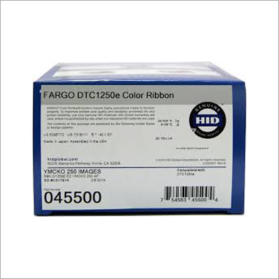 DTC1250E YMCKO Color Ribbon
