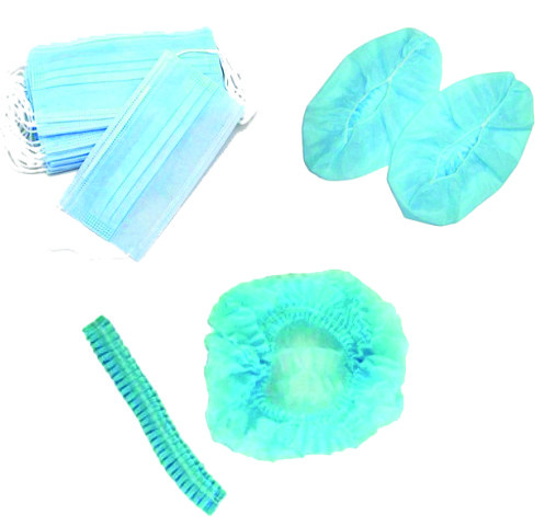 Disposable face mask / Cramp cap / Surgeon cap / Shoe cover