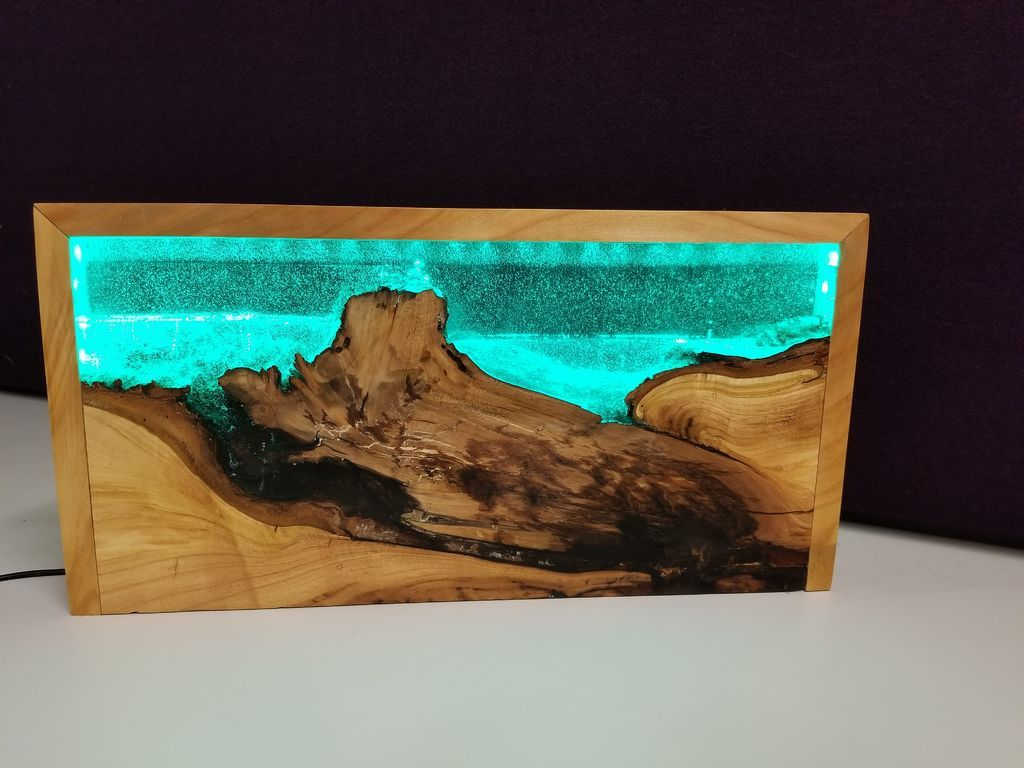 Wooden Resin ray-d-m Clear Table Top for hotel and home high quality new design