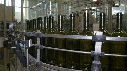 Glass Bottle Conveyor Line