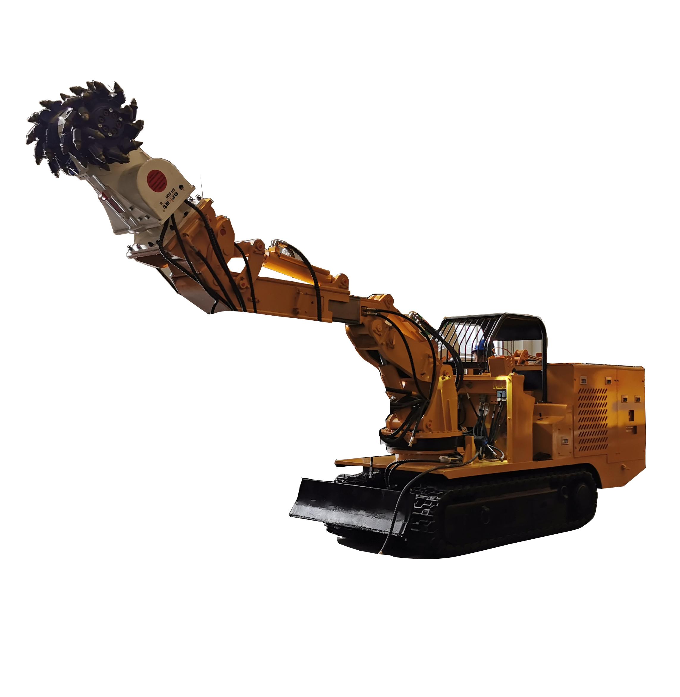 Multi-function Roadway Repairing Machine with Drum Cutter Scissors Breaking Hammer