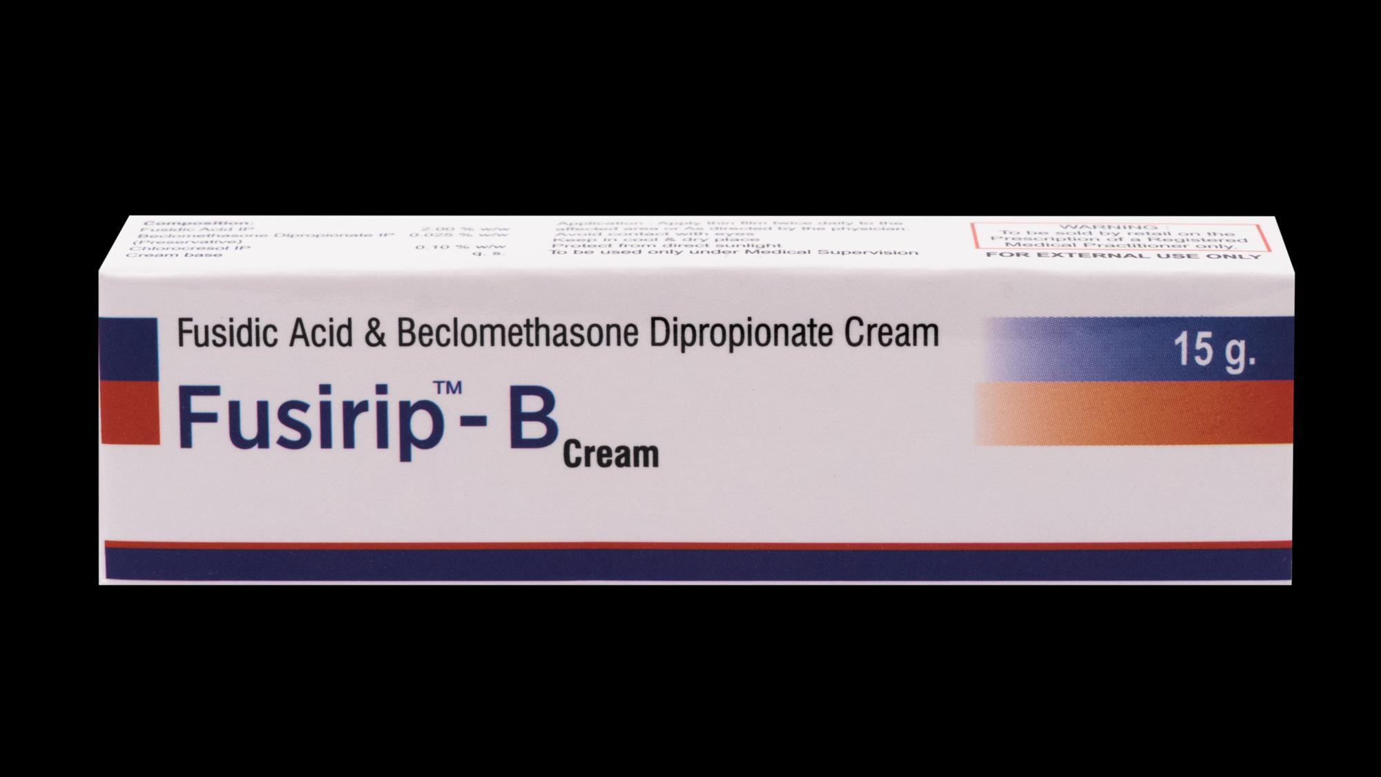 Fusidic Acid, Beclomethasone Dipropionate Cream
