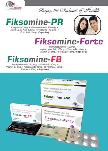 Pregabalin  + Methylcobalamin  + Alpha lipoic acid  + Pyridoxine  + Folic acid