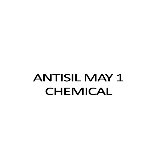 Antisil May 1 Chemical