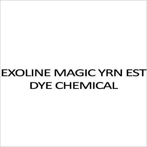 Exoline Magic YRN EST Dye Chemical