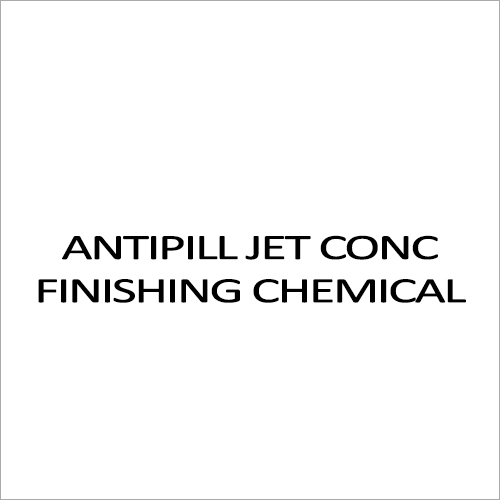 Antipill Jet Conc Finishing Chemicals