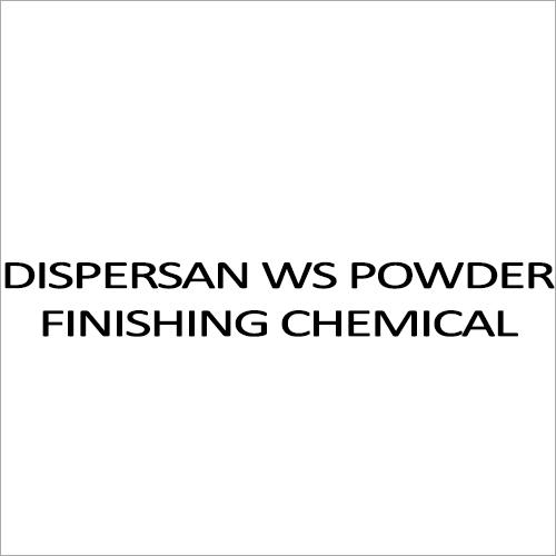 Dispersan WS Powder Finishing Chemicals