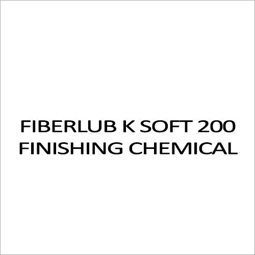Fiberlub K Soft 200 Finishing Chemicals