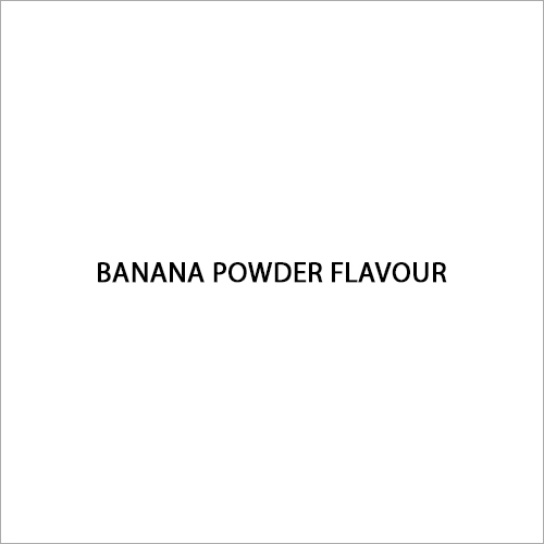 Banana Powder Flavour