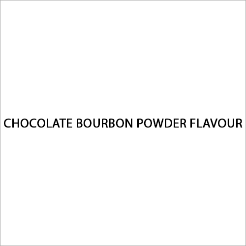 Chocolate Bourbon Powder Flavour