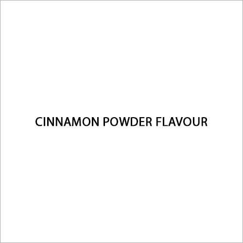 Cinnamon Powder Flavour