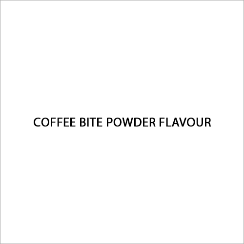 Coffee Bite Powder Flavour