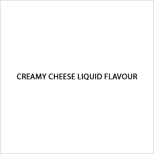 Creamy Cheese Liquid Flavour