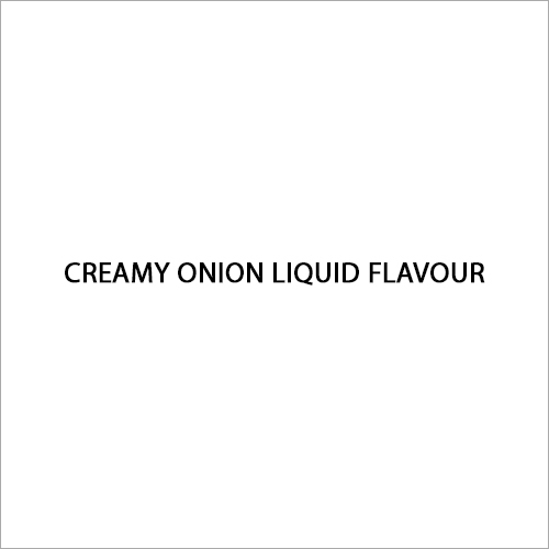 Creamy Onion Liquid Flavour