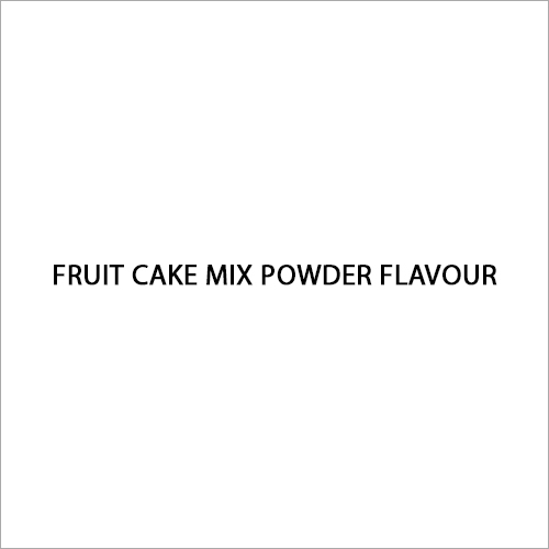 Fruit Cake Mix Powder Flavour