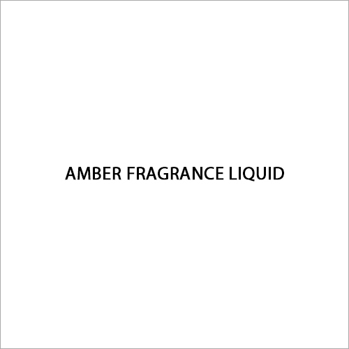 Amber Liquid Fragrance