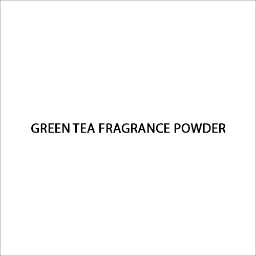 Green Tea Fragrance Powder