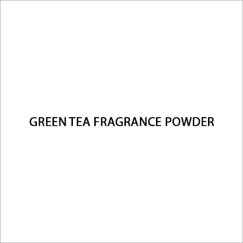 Green Tea Fragrance Powder