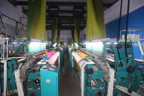 jacquard rapier loom machine