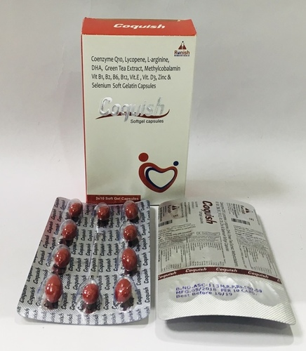 COQUISH SOFT GEL CAPSULES