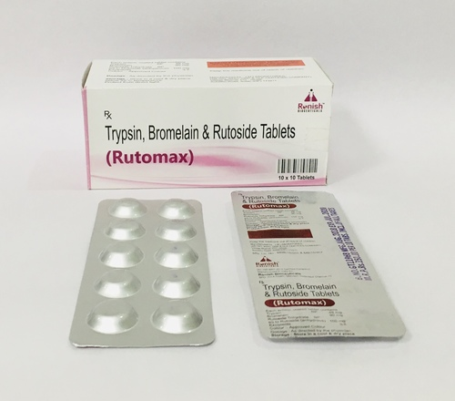 TRYPSIN, BROMELAIN & RUTOSIDE TABLETS