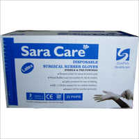 Disposable Surgical Rubber Glove