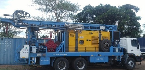PDTHR-300 Refurbished (TATA)Truck Mounted Drill Rig