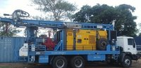 Refurbished TATA Truck Mounted water well Drill Rig