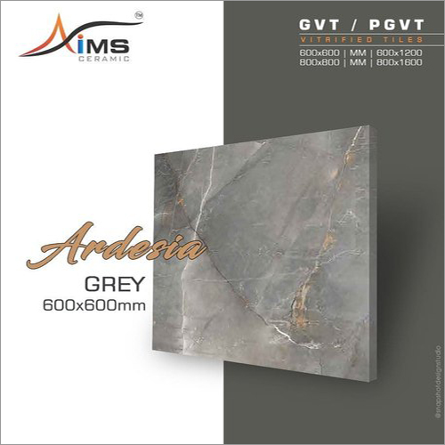 Ardesia Grey GVT PGVT Vitrified Tiles