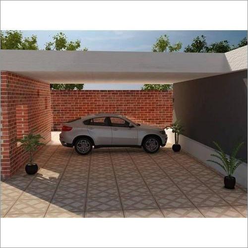 Digital Vitrified Parking Tiles