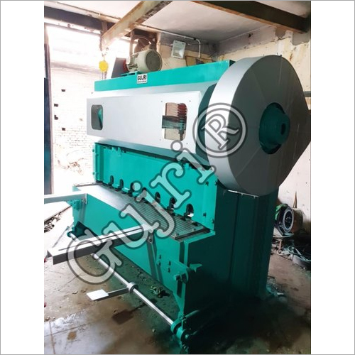 Semi Automatic Overcrank Shearing Machine
