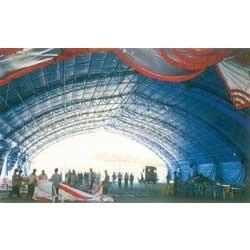 HDPE Exhibition Tarpaulin Hanger Covers